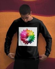 Rainbow Long Sleeve Tee apparel-long-sleeve-tee-lifestyle-01