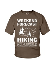HIKING WEEKEND Youth T-Shirt front