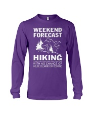 HIKING WEEKEND Long Sleeve Tee thumbnail
