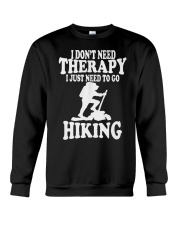 to go hiking Crewneck Sweatshirt thumbnail