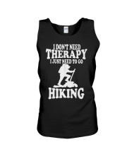 to go hiking Unisex Tank tile