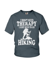 to go hiking Youth T-Shirt front