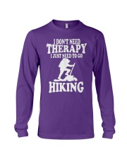 to go hiking Long Sleeve Tee thumbnail