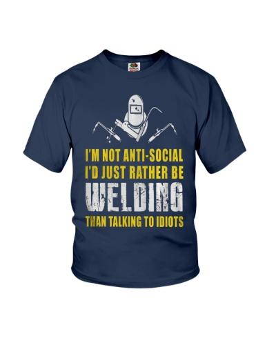 WELDER TALKING