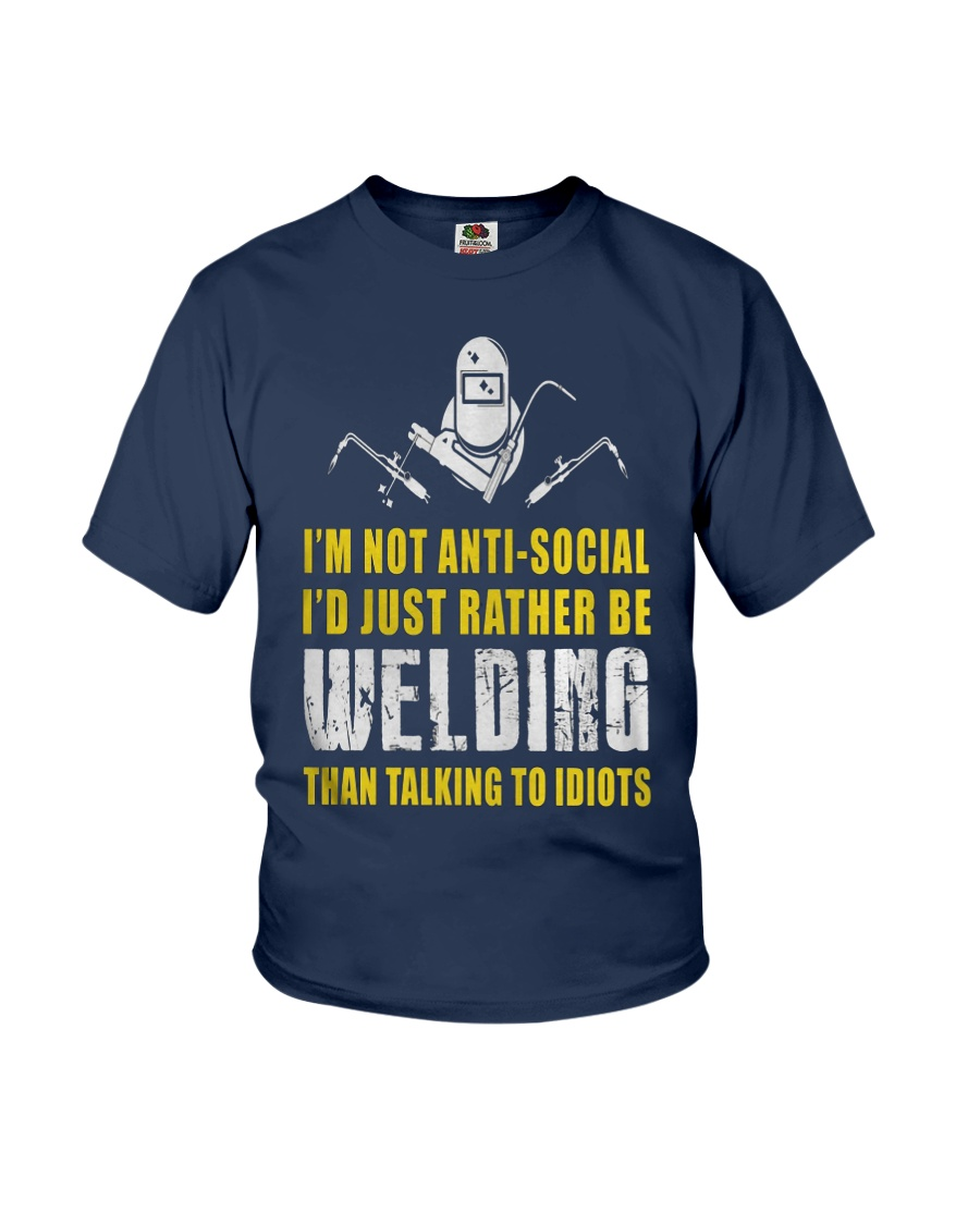 WELDER TALKING  Youth T-Shirt