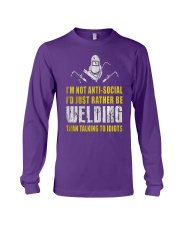 WELDER TALKING  Long Sleeve Tee thumbnail
