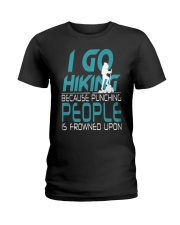 I hiking Ladies T-Shirt thumbnail
