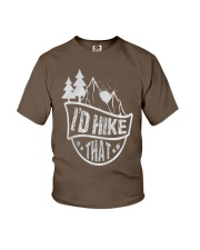 THAT HIKING Youth T-Shirt front