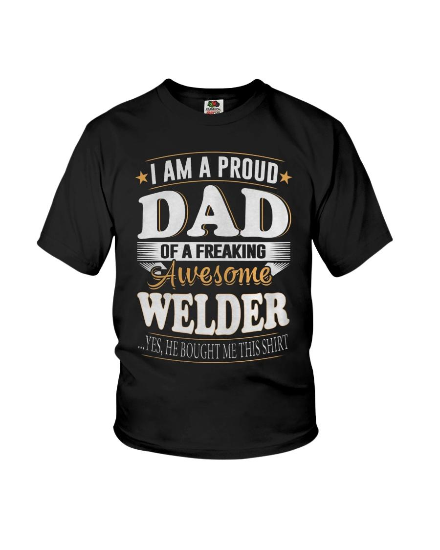 DAD OFWELDER  Youth T-Shirt