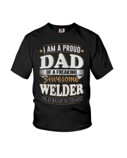 DAD OFWELDER  Youth T-Shirt thumbnail