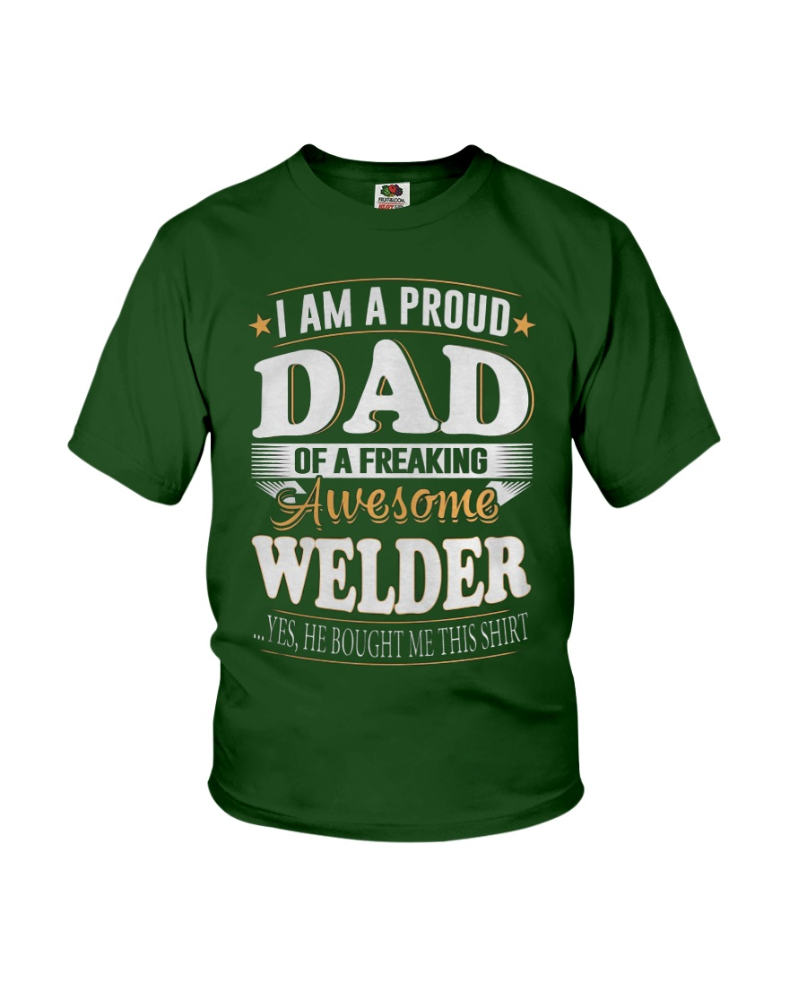 DAD OFWELDER  Youth T-Shirt