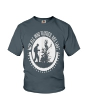 all who wander  Youth T-Shirt front