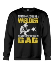 WELDER DAD Crewneck Sweatshirt thumbnail
