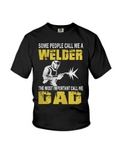 WELDER DAD Youth T-Shirt thumbnail