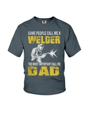 WELDER DAD Youth T-Shirt front
