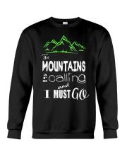 Hiking Tees Crewneck Sweatshirt thumbnail