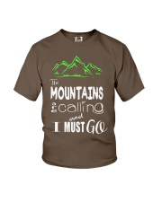 Hiking Tees Youth T-Shirt front