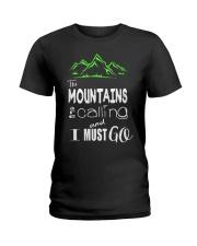 Hiking Tees Ladies T-Shirt thumbnail