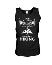 Hiking Thinking  Unisex Tank thumbnail