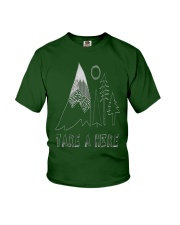 TAKE A HIKE Youth T-Shirt front