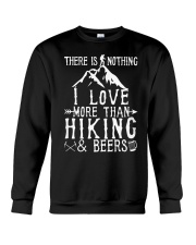 I love Hiking  Crewneck Sweatshirt thumbnail