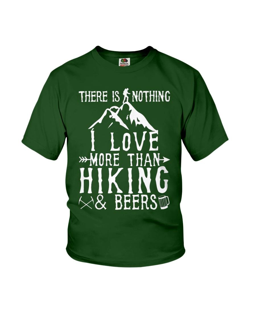 I love Hiking  Youth T-Shirt