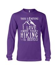 I love Hiking  Long Sleeve Tee thumbnail