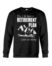 Hiking Plan Crewneck Sweatshirt thumbnail