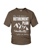 Hiking Plan Youth T-Shirt thumbnail