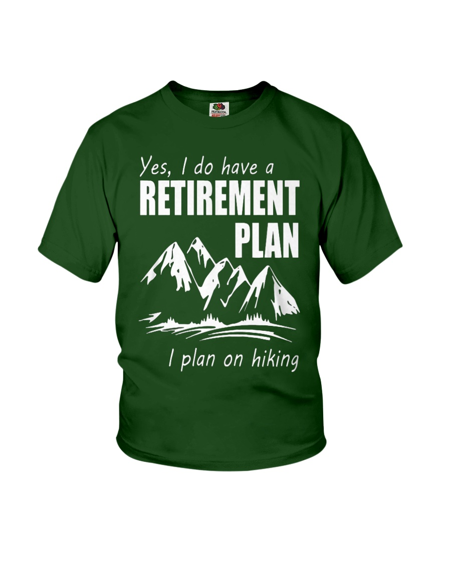 Hiking Plan Youth T-Shirt