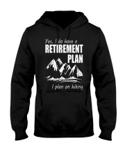 Hiking Plan Hooded Sweatshirt thumbnail