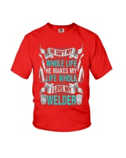 LOVEMYWELDER Youth T-Shirt front