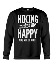 Hiking makes  Crewneck Sweatshirt thumbnail