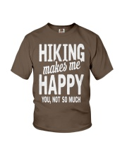 Hiking makes  Youth T-Shirt thumbnail