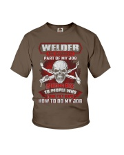 WELDER THE  Youth T-Shirt front