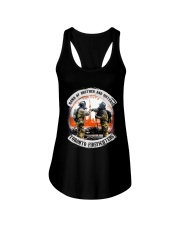 band off brother Ladies Flowy Tank thumbnail