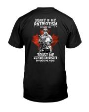 CÂ-ARM Classic T-Shirt back