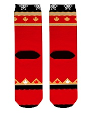 tat001 Crew Length Socks back