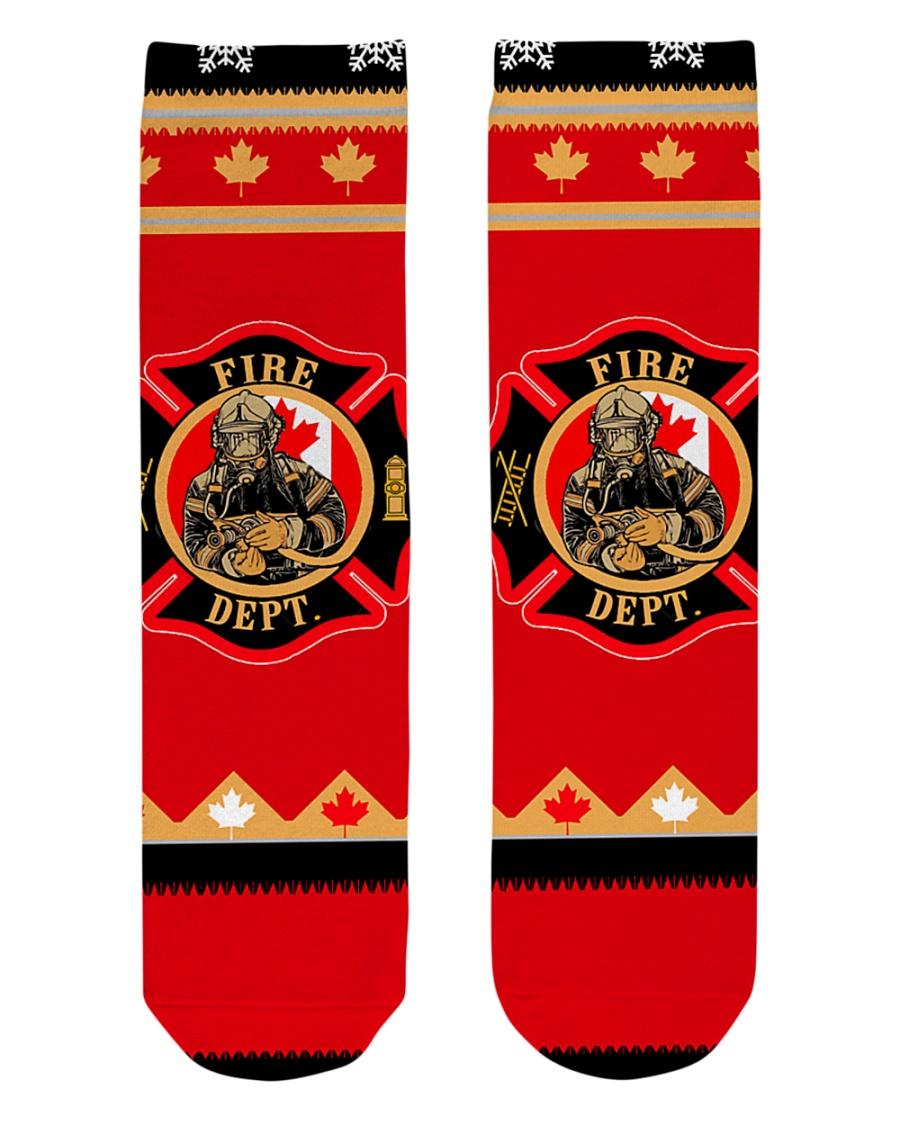 tat001 Crew Length Socks