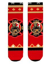 tat001 Crew Length Socks front