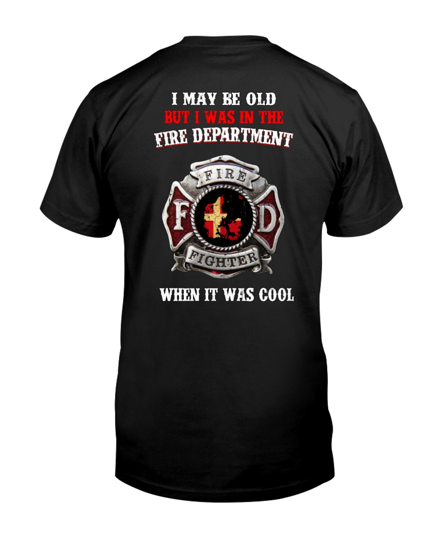 firefigter old Classic T-Shirt