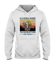 BE KIND ELEPHANT VINTAGE Hooded Sweatshirt thumbnail