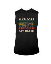 LIVE FAST EAT TRASH VINTAGE Sleeveless Tee thumbnail