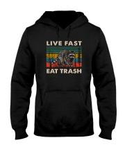 LIVE FAST EAT TRASH VINTAGE Hooded Sweatshirt thumbnail