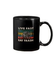 LIVE FAST EAT TRASH VINTAGE Mug thumbnail