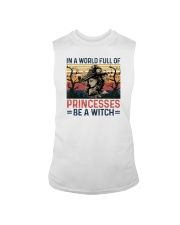 IN A WORLD FULL OF PRINCESS BE A WITCH Sleeveless Tee thumbnail