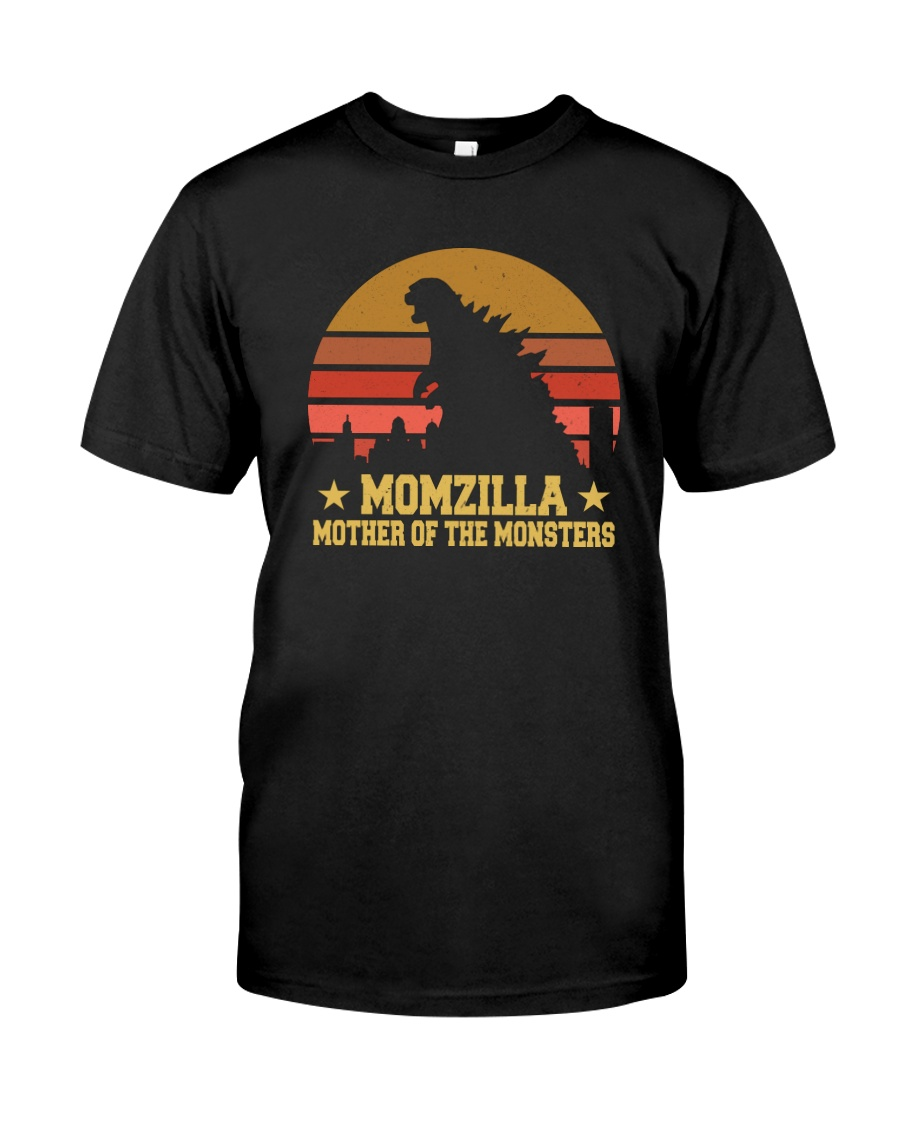 MOMZILLA MOTHER OF THE MONSTERS Classic T-Shirt