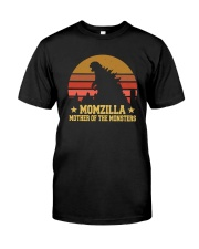 MOMZILLA MOTHER OF THE MONSTERS Classic T-Shirt front