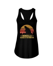 MOMZILLA MOTHER OF THE MONSTERS Ladies Flowy Tank thumbnail