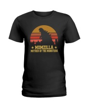 MOMZILLA MOTHER OF THE MONSTERS Ladies T-Shirt thumbnail